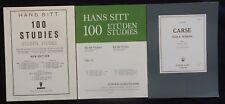 Lot (n°14) Partitions x3 recueils (POUR LE VIOLON) Etudes, Gammes, Studies...