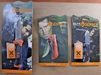 3 GERBER Bear Grylls ULTIMATE SURVIVAL KNIFE SET ~ 3 BRAND NEW KNIVES