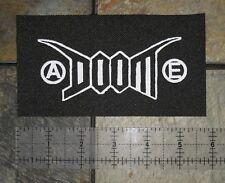 DOOM Patch- Antisect Anti Cimex Filth D-beat Extreme Noise Terror Crust Punk DIY