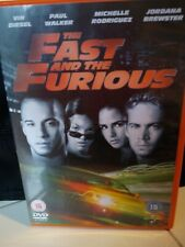 The Fast and The Furious DVD