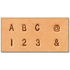 "Craftool 1/8"" (3 mm) Alphabet & Number Set Tandy Leather 8137-10 FREE SHIPPING!"