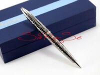Waterman Carene Kugelschreiber Ballpoint Pen Palladium Gun-Metal