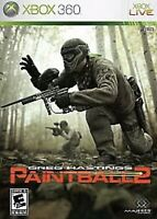 Greg Hastings' Paintball 2 Xbox 360/Xbox One/series X Kids Game Collectible