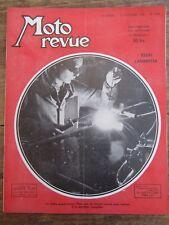 ANCIENNE REVUE MOTO REVUE N° 1114 DECEMBRE 1952 ESSAI LAMBRETTA