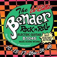 Saiten Satz für E-Gitarre La Bella L- B1046 light 010-046  Rock&Roll Saiten Set