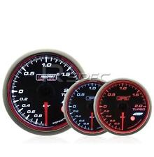 Prosport 60mm Turbo boost gauge BAR Affumicato Stepper il WRC STYLE