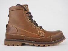 Mens Timberland Originals Earthkeeper A15551 Med Brown Leather Lace Up Boots
