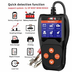 BA201 Automotive 12V Vehicle Battery Tester Scanner Battery Analyzer 100~2000CCA