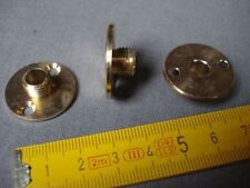 raccord plaque laiton mâle pas 10 mm diamètre 25 mm pour luminaires