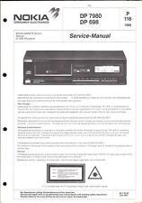 Nokia Original Service Manual für DP 7980/698