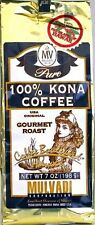 MULVADI * PURE 100% KONA COFFEE GOURMET GROUND 3 / 7 OZ