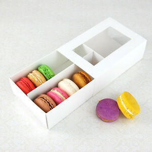 Macaron Box - for 12 Macarons - Pack of 25 sets