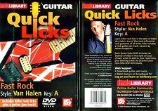 Lick Library Fast Rock Van Halen Style DVD