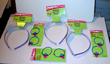 Creatology Headbands Color Lt Purple & Pony O's for Kids byMichaels Cupcakes 32A