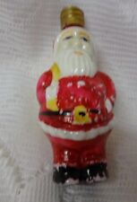 Antique Extremely Japan Glass Santa Claus Christmas Light Bulb