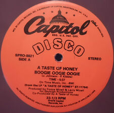 "A Taste Of Honey ‎– Boogie Oogie Oogie / Rescue Me - 12"" INCH    COLOR"