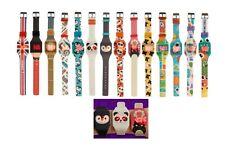Reloj de Pulsera Reloj Digital Led De Silicona Niños Niños Niñas Correa Hebilla