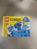 Lego 10706 Classic Blue Creativity Box Building Kit 78 Piece New Factory Sealed