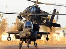 PHOTOGRAPH MILITARY AIRCRAFT HELICOPTER GUNSHIP USA ART PRINT POSTER BB9088