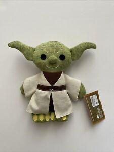 """NWT Yoda Knit Plush – Star Wars: Galaxy's Edge – Small 9"""" Walt Disney World Doll"""