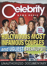 Celebrity News Reels - Hollywoods Most Infamous Couples And Ugliest Breakups DVD