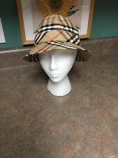 BURBERRYS' Adult Vintage Bucket Hat Size Medium (EL)