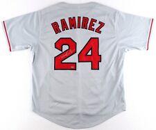 Manny Ramirez Signed Red Sox Jersey (Schwartz COA)