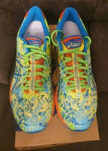 Asics Mens Gel-Noosa Tri 11 UK 9 Running Shoes Trainers Sneakers Multicoloured