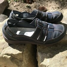 Navy Blue Clarks CloudSteppers Comfort Shoes Size 6.5