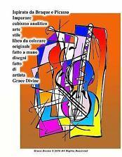 Ispirato Da Braque e Picasso Imparare Cubismo Analitico Arte Stile Libro Da...