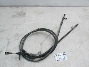 2005 2006 INFINITI G35 Emergency Parking Park Brake Link wire Cable SET Linkage