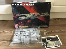 AMT ERTL generazioni di STAR TREK Klingon bird of prey PLASTIC MODEL KIT 8230