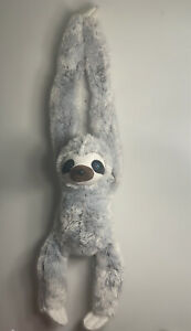 """Kelly toys 40"""" sloth with blue eyes"""