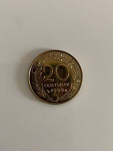 20 Centimes 1999 Lagriffoul Marianne