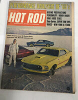 OCTOBER 1967 HOT ROD MAGAZINE MICKEY THOMPSON, MUSTANG MACH I BOBBY UNSER quant2