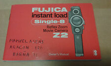 Usado - Manual Instrucciones Cámara de Cine FUJICA SINGLE 8 - For Collectors
