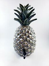 Rare Louisville Pottery Stonewear Samovar Massive Pineapple Drink Dispenser 21.5