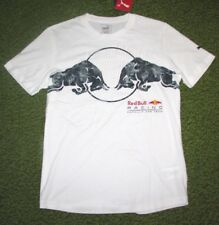 "Men's (S) PUMA ""RED BULL RACING"" Collection White T-Shirt (Formula One)"