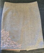 PINK SODA,BOUTIQUES BROWN/CREAM ZIG ZAG PATTERN,SIZE SMALL