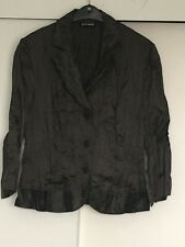 Gerry Weber Designer Brown 2 Piece Occasion Suit UK14 Lined Skirt With Belt.Used