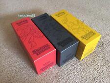 Pokemon TCG Shining Leg. 3 x Premium Card Storage Boxes Genesect/Zoroark/Arceus