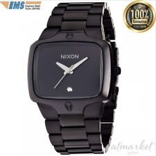 NEW NIXON Watch THE PLAYER ALL BLACK NA140001 Men's in Box genuine from JAPAN
