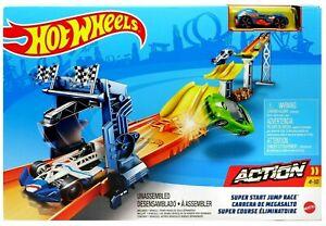Hot Wheels Action Super Start Jump Race Track Set