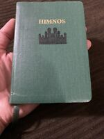 Spanish Hymnal Hymn Hymns Book Green Scripture LDS Mormon Mini Pocket Sized 1992