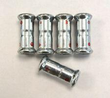 5x Muffe 12mm ähnlich wie Mapress 22001 Pressfitting unbenutzt