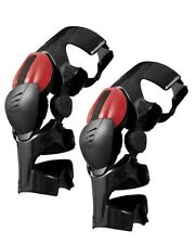1 EVS WEB Pro Knee Brace Guard Carbon Fiber Medium  Pair Left and Right