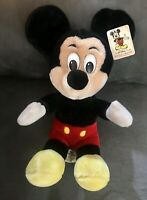 Disney Parks Authentic Original Mickey Mouse Plush Stuffed Animal Small 12 Inch