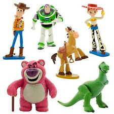 Disney Pixar Toy Story 3 Play Set Cake Toppers Disney Toys Woody Jesse Buzz Rex