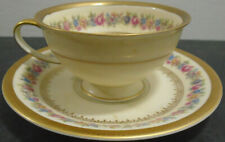 VINTAGE ROSENTHAL SELB GERMANY US ZONE WINIFRED FLORAL CUP + SAUCER SET