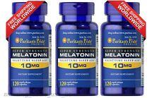 Puritan's Pride Melatonin 10 mg Night Time Sleep Aid 360 Capsules Free Shipping